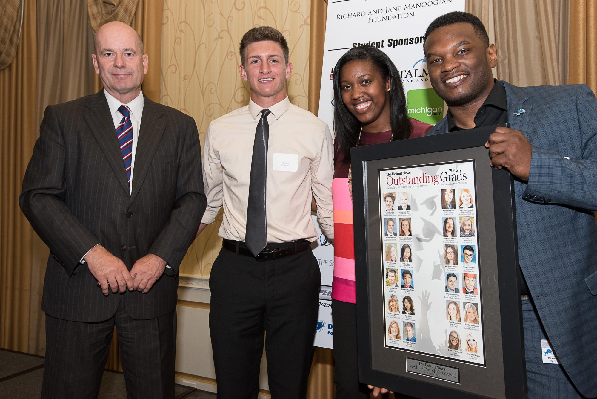 Detroit News Grad Awards
